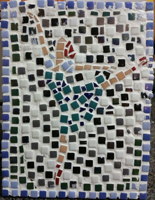 Glass Mosaic Dancer